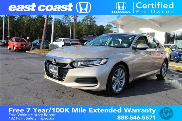 Certified Pre-Owned 2018 Honda Accord Sedan LX 1.5T 1 Owner, Low Miles