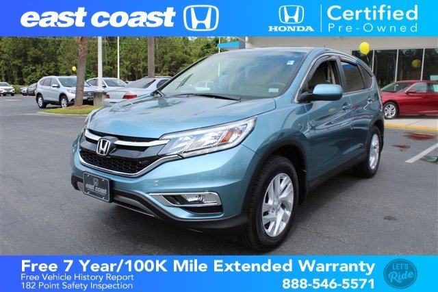Certified Pre Owned 2015 Honda CR V EX Low Miles, Bluetooth