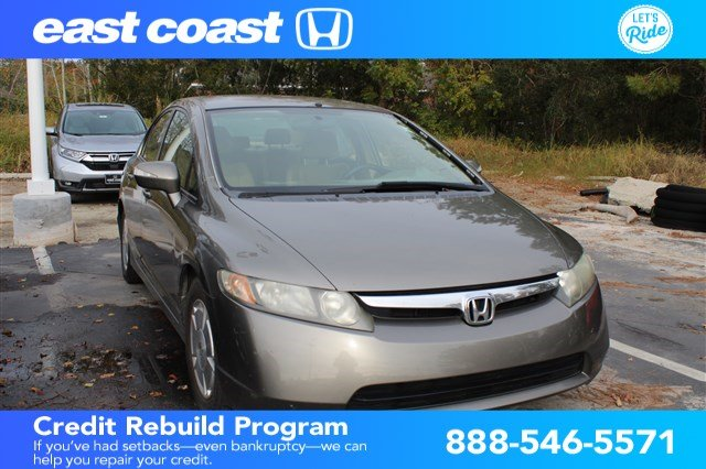 Pre Owned 2006 Honda Civic Hybrid 4dr Sdn Hyb Cvt