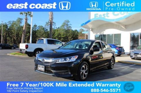 Certified Pre-Owned 2017 Honda Accord Sedan LX low miles, 1 Owner