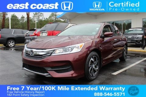 Certified Pre-Owned 2017 Honda Accord Sedan LX 1 Owner, Bluetooth