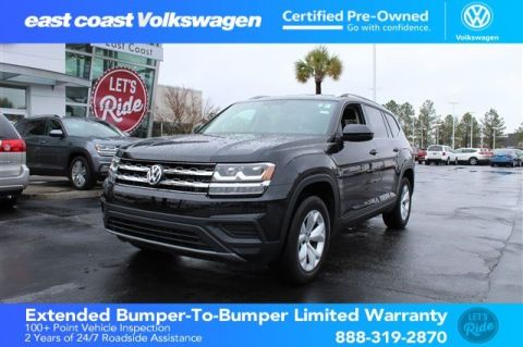 Certified Pre-Owned 2018 Volkswagen Atlas 3.6L V6 S, Low Miles 1 Owner