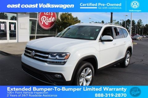 Certified Pre-Owned 2018 Volkswagen Atlas 3.6L V6 SE w/Technology, 1 Owner