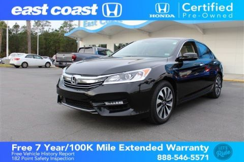 Certified Pre-Owned 2017 Honda Accord Hybrid EX-L Low Miles, Heated Seats